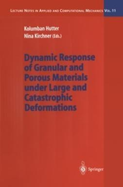 Hutter, Kolumban - Dynamic Response of Granular and Porous Materials under Large and Catastrophic Deformations, ebook
