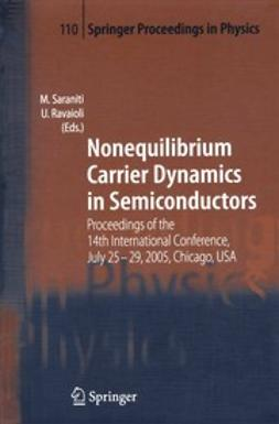 Ravaioli, U. - Nonequilibrium Carrier Dynamics in Semiconductors, ebook