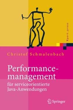 Schmalenbach, Christof - Performancemanagement für serviceorientierte JAVA-Anwendungen, ebook