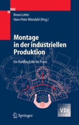 Lotter, Bruno - Montage in der indusriellen Produktion, ebook