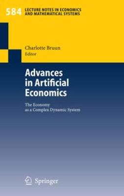 Bruun, Charlotte - Advances in Artificial Economics, ebook