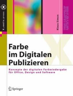 Simon, Klaus - Farbe im Digitalen Publizieren, e-bok