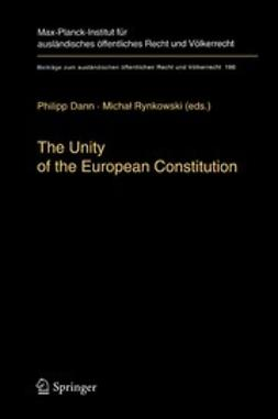 Dann, Philipp - The Unity of the European Constitution, ebook