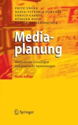 Durante, Nadia-Vittoria - Mediaplanung, ebook