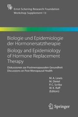 Dietel, M. - Biology und Epidemiology of Hormone Replacement Therapy, ebook