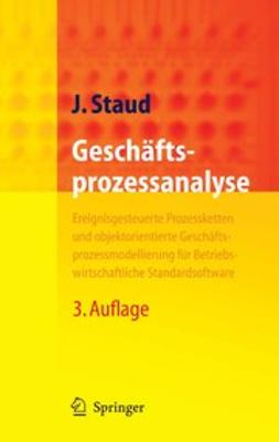 Staud, Josef - Geschäftsprozessanalyse, ebook