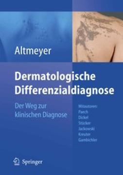 Altmeyer, Peter - Dermatologische Differenzialdiagnose, e-bok