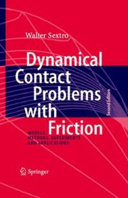 Sextro, Walter - Dynamical Contact Problems with Friction, ebook