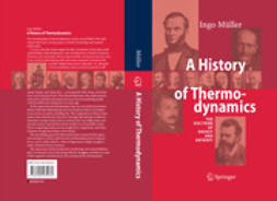 Müller, Ingo - A History of Thermodynamics, ebook