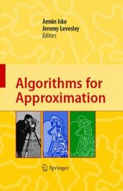 Iske, Armin - Algorithms for Approximation, ebook