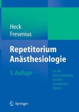 Fresenius, Michael - Repetitorium Anästhesiologie, ebook