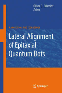Schmidt, Oliver - Lateral Aligment of Epitaxial Quantum Dots, ebook