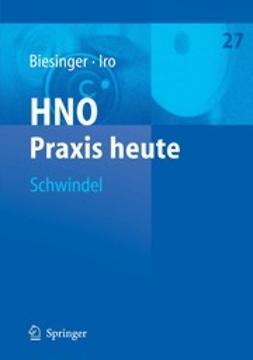 Biesinger, Eberhard - Schwindel, ebook