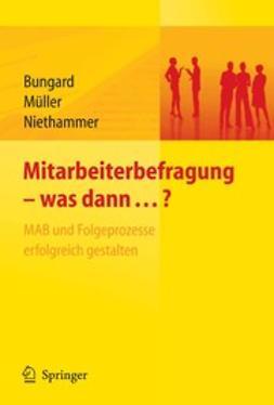 Bungard, Walter - Mitarbeiterbefragung — was dann…?, ebook
