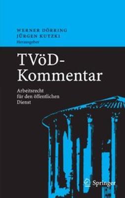 Dörring, Werner - TVöD — Kommentar, e-kirja