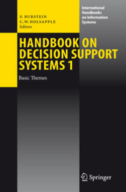 Burstein, Frada - Handbook on Decision Support Systems 1, ebook