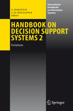 Burstein, Frada - Handbook on Decision Support Systems 2, ebook