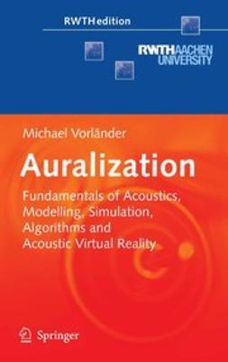 Vorländer, Michael - Auralization, ebook