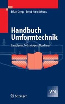 Behrens, Bernd-Arno - Handbuch Umformtechnik, ebook