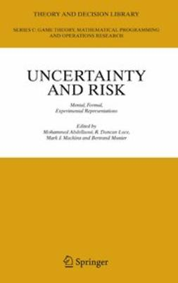 Abdellaoui, Mohammed - Uncertainty and Risk, ebook