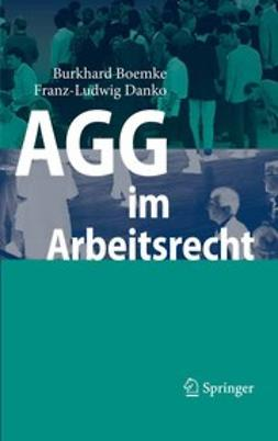 Boemke, Burkhard - AGG im Arbeitsrecht, ebook