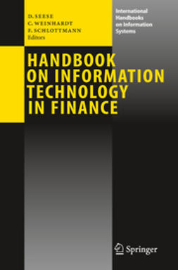 Schlottmann, Frank - Handbook on Information Technology in Finance, ebook
