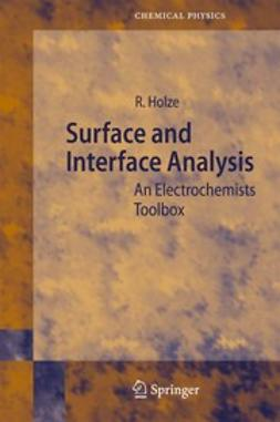 Holze, Rudolf - Surface and Interface Analysis, ebook