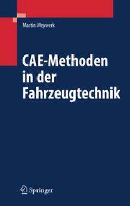 Meywerk, Martin - CAE-Methoden in der Fahrzeugtechnik, ebook