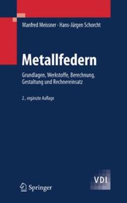 Meissner, Manfred - Metallfedern, ebook