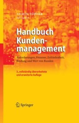 Töpfer, Armin - Handbuch Kundenmanagement, ebook
