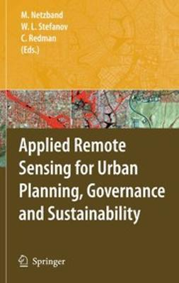 Netzband, Maik - Applied Remote Sensing for Urban Planning, Governance and Sustainability, ebook