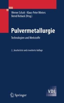 Kieback, Bernd - Pulvermetallurgie, e-kirja