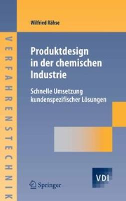 Rähse, Wilfried - Produktdesign in der chemischen Industrie, ebook