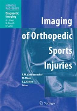 Gielen, Jan L. - Imaging of Orthopedic Sports Injuries, ebook