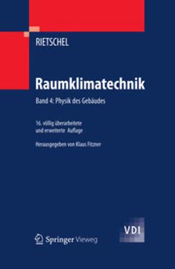 Fitzner, Klaus - Raumklimatechnik, ebook