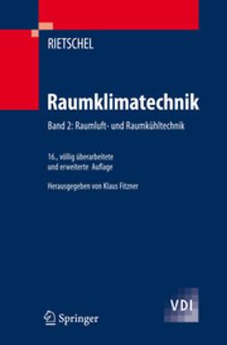 Fitzner, Klaus - Raumklimatechnik – Band 2, e-kirja