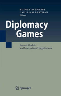 Avenhaus, Rudolf - Diplomacy Games, ebook