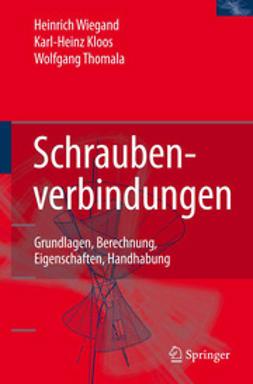 Kloos, Karl-Heinz - Schraubenverbindungen, ebook