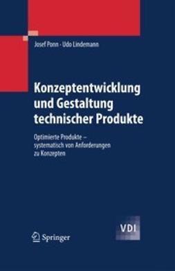 Lindemann, Udo - Konzeptentwicklung und Gestaltung technischer Produkte, ebook