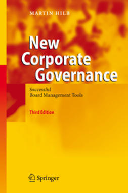 Hilb, Martin - New Corporate Governance, e-bok