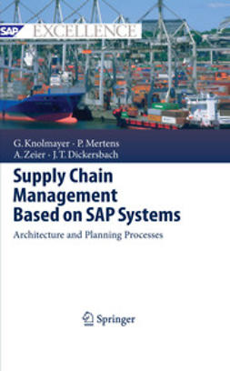 Knolmayer, Gerhard F. - Supply Chain Management Based on SAP Systems, ebook