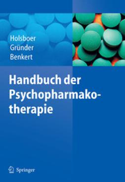 Benkert, Otto - Handbuch der Psychopharmakotherapie, e-kirja