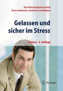 Kaluza, Gert - Gelassen und sicher im Stress, e-kirja