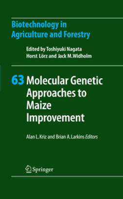 Kriz, Alan L. - Molecular Genetic Approaches to Maize Improvement, ebook
