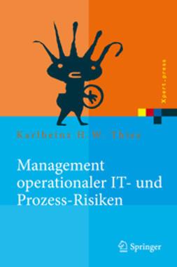 Thies, Karlheinz H. W. - Management operationaler IT- und Prozess-Risiken, ebook