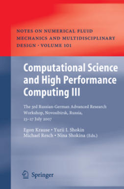 Krause, Egon - Computational Science and High Performance Computing III, ebook