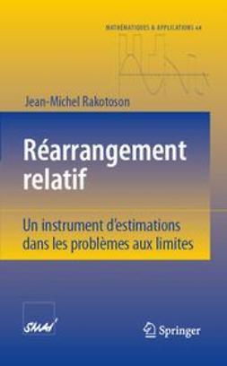 Rakotoson, Jean-Michel - Réarrangement Relatif, ebook