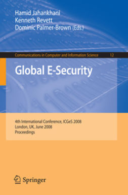 Jahankhani, Hamid - Global E-Security, ebook