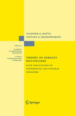 Maz'ya, Vladimir G. - Theory of Sobolev Multipliers, ebook