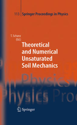 Schanz, T. - Theoretical and Numerical Unsaturated Soil Mechanics, ebook